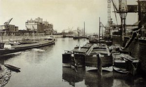 The Port du Rhin in 1920 © Archives Municipales de Strasbourg