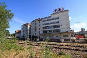 «The old COOP headquarters in the Port du Rhin » ©Eurométropole, Jérôme Dorkel