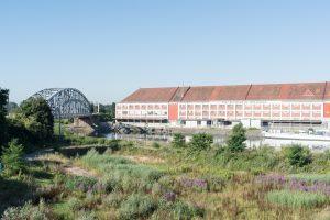 «Buildings lining the independent port on the bassin Vauban» ©David Betzinger