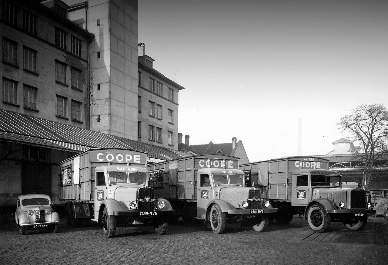 COOP headquarters in the 1930's