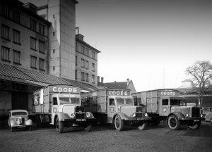 «L'ancien siège de la «COOPE» dans les années 30»