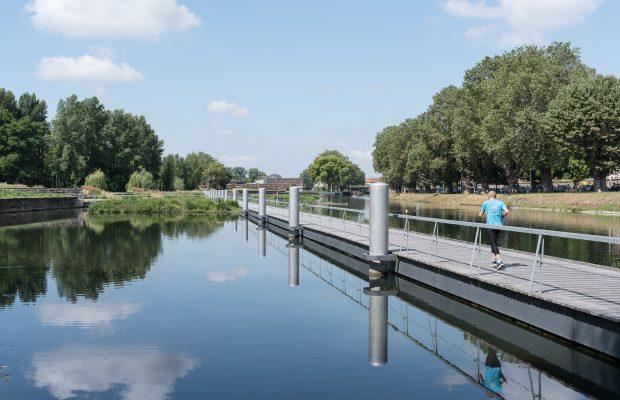 «Heyritz park, along the bassin Dusuzeau» ©David Betzinger