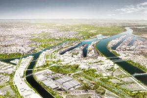 «Le territoire de la nouvelle étape du projet Deux Rives» ©Agence TER