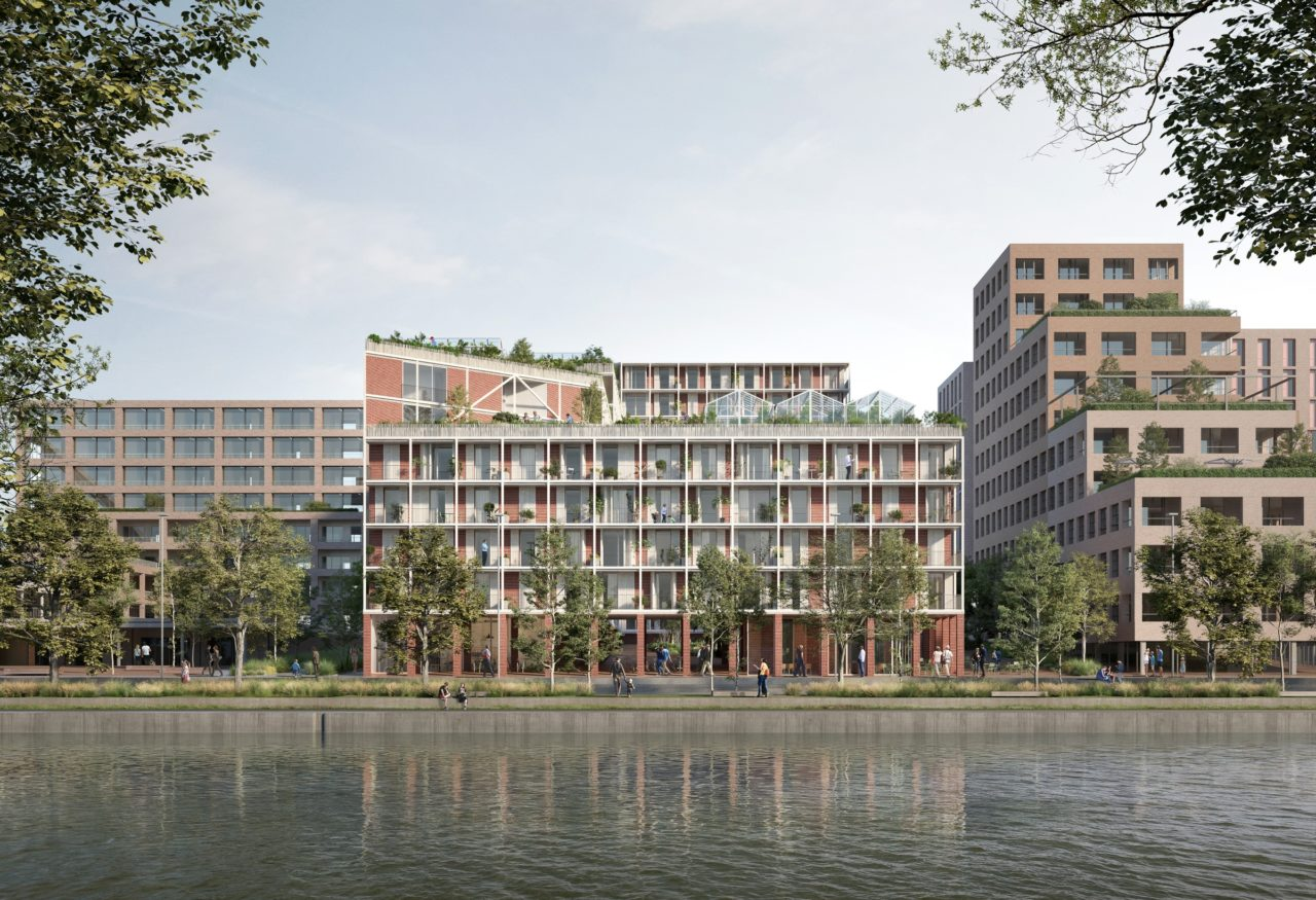 Vue du bassin Vauban © OFFICE Kersten Geers David Van Severen + LPAA Loïc Picquet Architecte + Filippo Bolognese