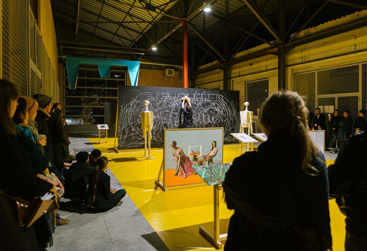 Vernissage de Regionale 20 au Garage COOP © Alex Flores