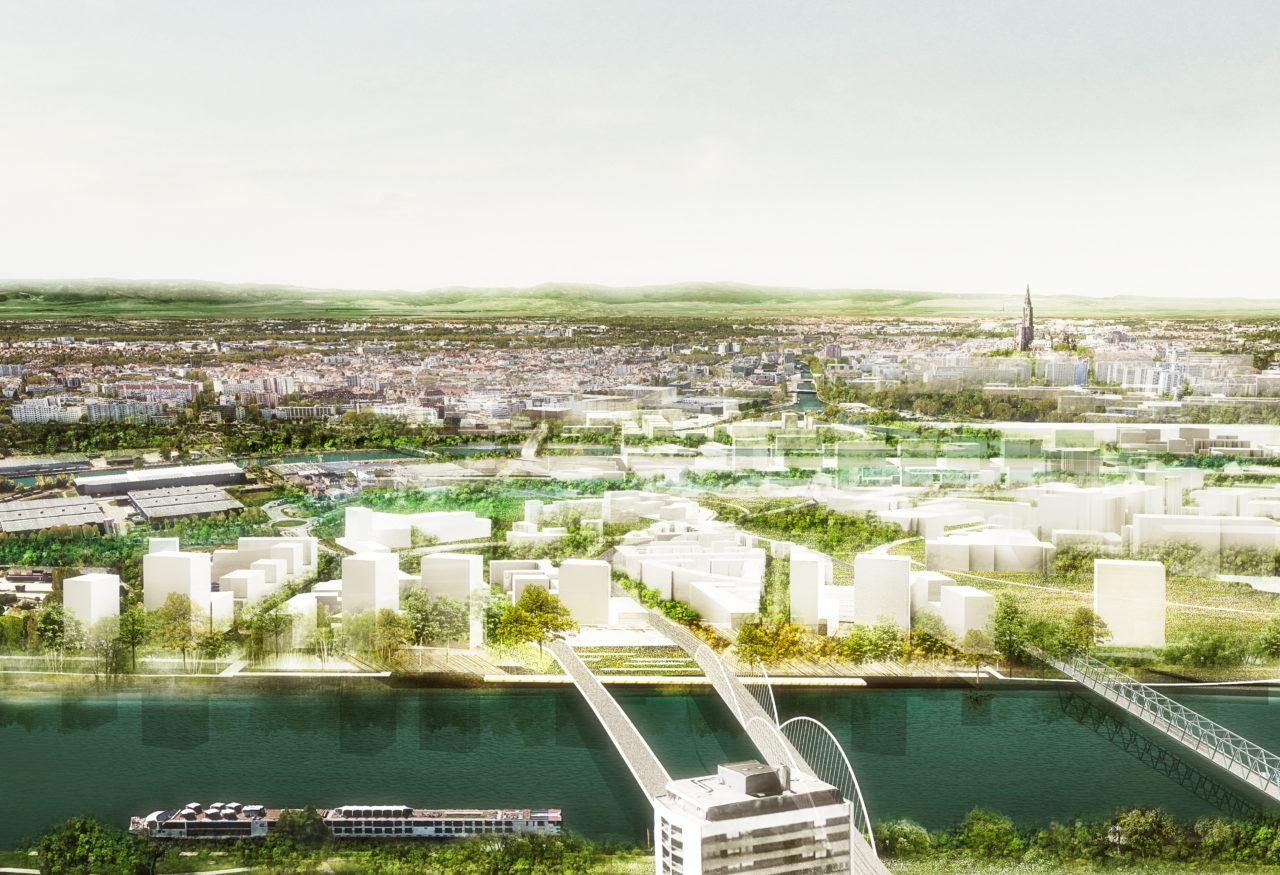 Rives & Port du Rhin © Agence Ter