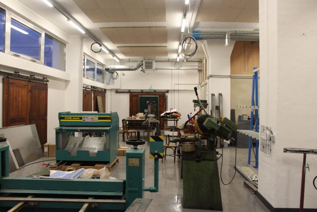 Les équipes des Musées prennent place au rez-de-chaussée et s'installent. © SPL Deux-Rives