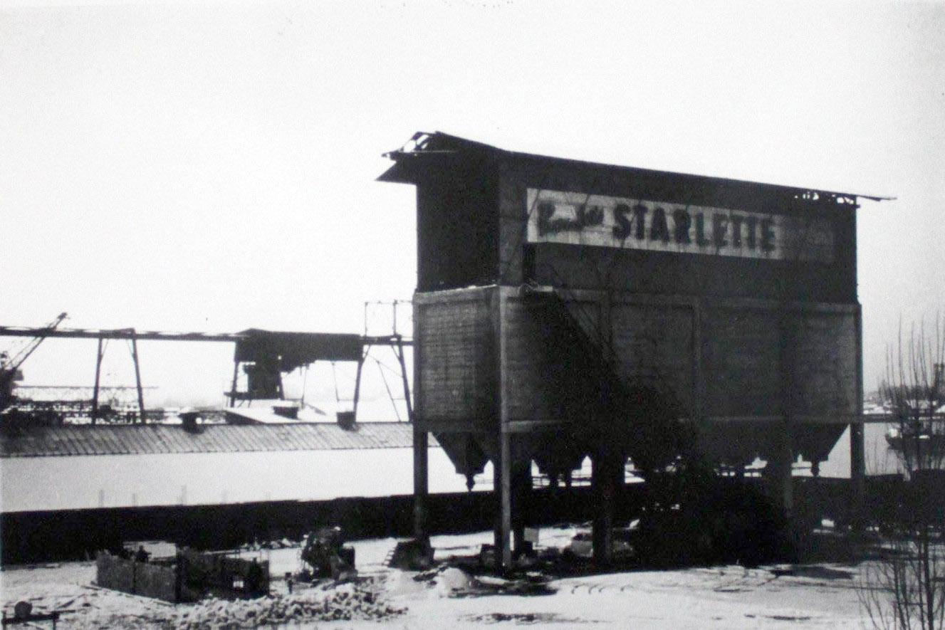 Starlette coal pellets in the 20th century. Photo credit: Inventaire de la région/Patrimoine d'Alsace