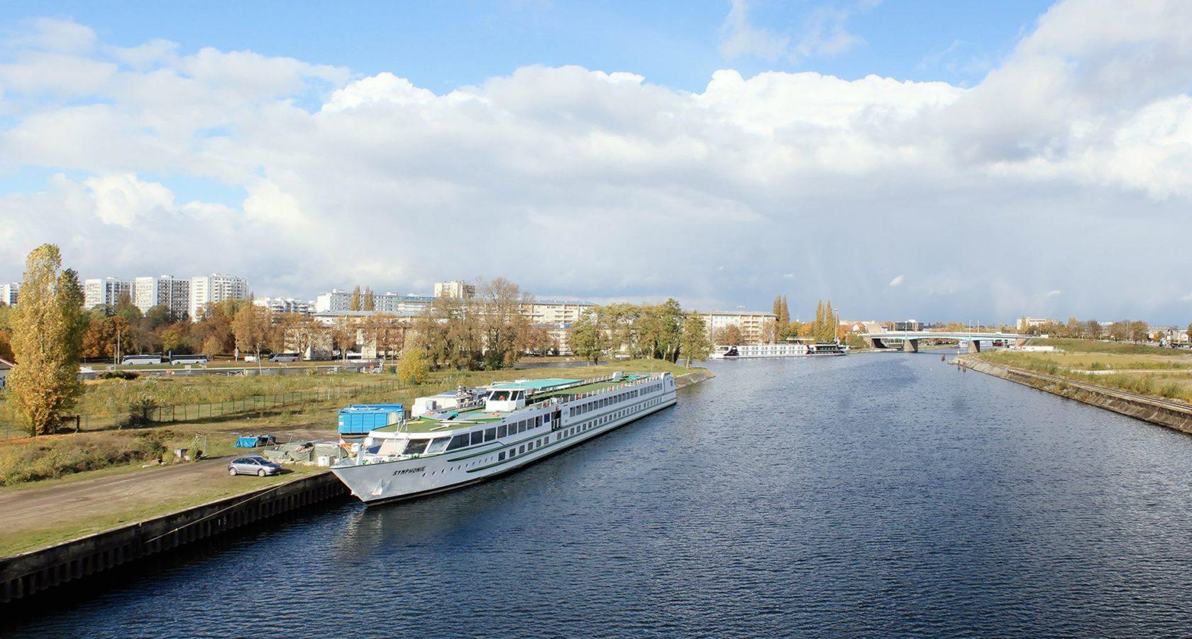 Vue de Citadelle depuis le Pont André Bord, aujourd'hui. Crédits Agence TER