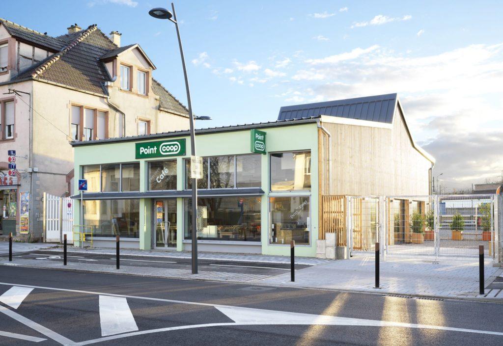 Die Türen des Point Coop - Café Deux-Rives sind immer mittwochs von 14 bis 18 Uhr geöffnet. Copyright Siméon Levaillant
