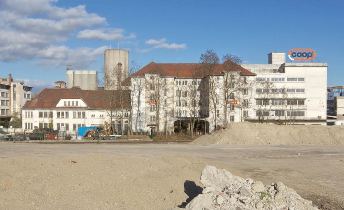 Das Gebäude Administration vor der Sanierung, Copyright Arnaud Duboys Fresney