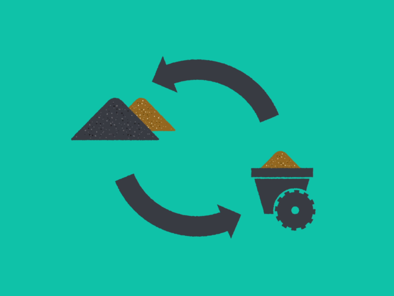 Schéma de la valorisation des sols