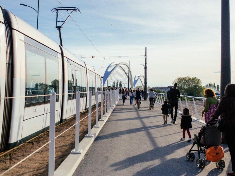 Le tramway transfrontalier © Vincent Muller - SPL Deux Rives